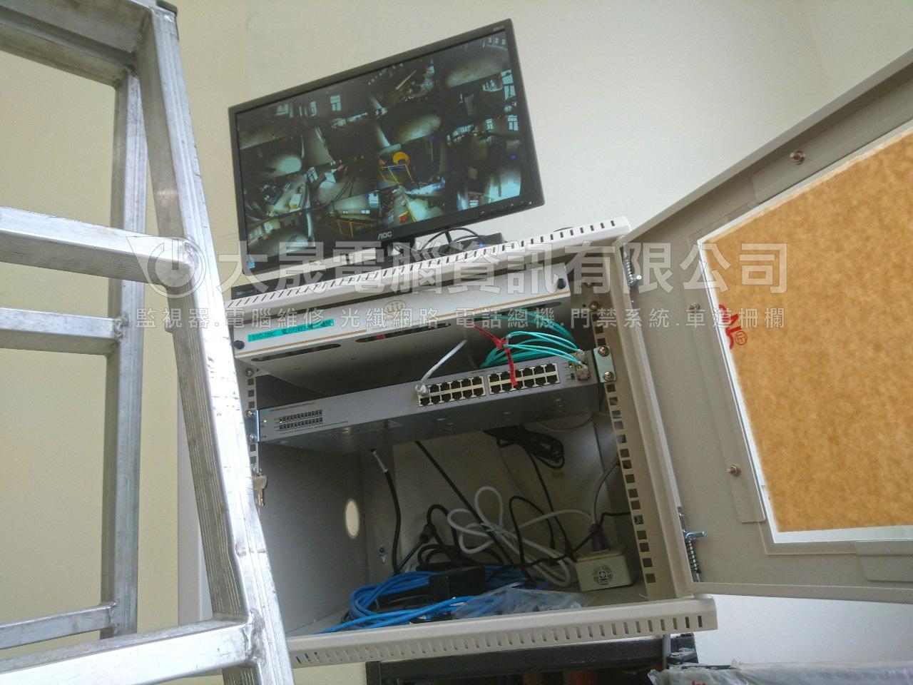 觀音監視器,新增監視器,大晟電腦為工廠監視器安裝首選,宏泰電工監視器安裝