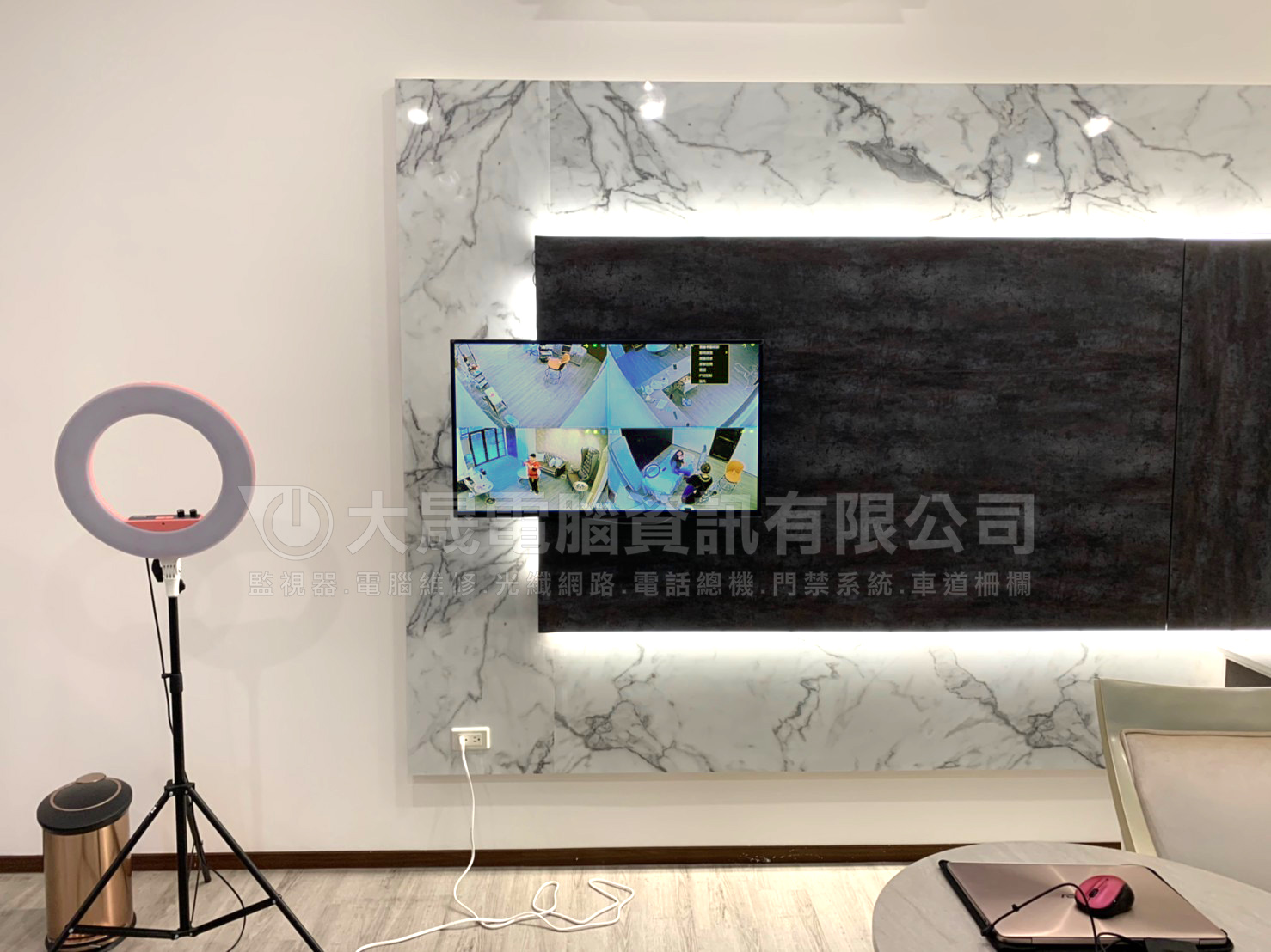 蘆竹監視器安裝工程,店家新增監視器,高畫質攝影機