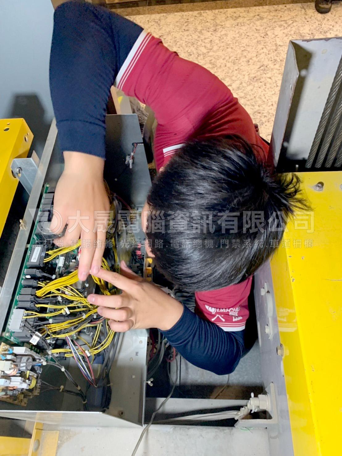 店家新開幕、安裝監視器、弱電佈線、大倉酷眼鏡板橋店、板橋監視器工程、新增監視器