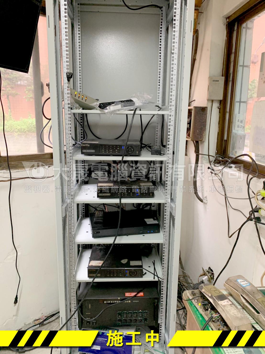 桃園弱電整線工程、社區整線、機櫃